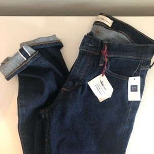 GAP True Skinny Selvedge Jeans